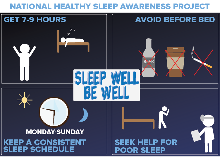 Sleeping well is good for health